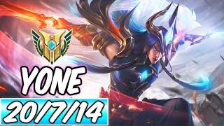 DAWNBRINGER YONE MID - NEW SKIN FULL AD DIAMOND GAMEPLAY | Best Build & Runes | League of Legends
