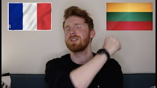 Musician reacts to Eurovision 2021 songs [France, Lithuania]