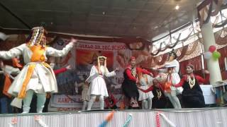 Kullvi nati performed by Govt.Girls Sr. Sec. School Rampur bsr Shimla H. P. India