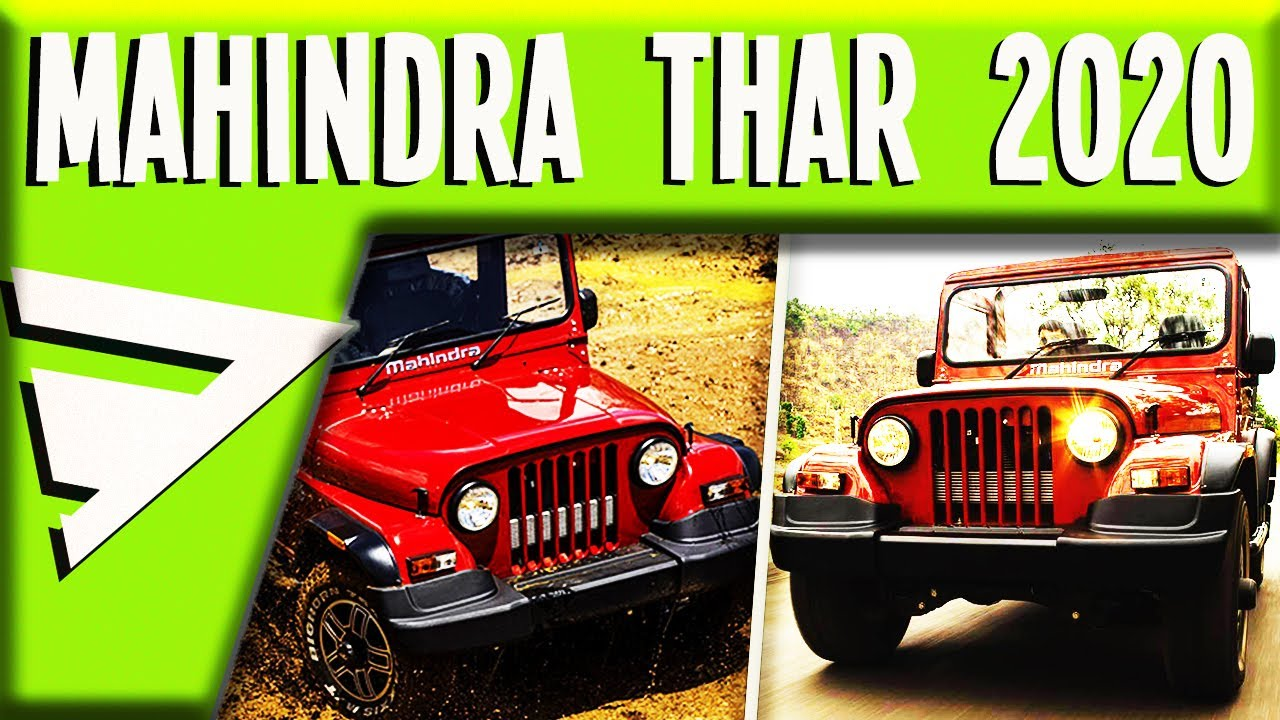MAHINDRA THAR 2020 NEW | PRICE, FEATURES, SPECS, LAUNCH DATE | upcomings | Tamil💯🚧