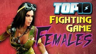 Top 10 Fighting Game Females thumbnail