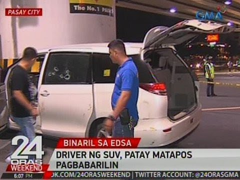 24 Oras: Driver ng SUV, patay matapos pagbabarilin sa Pasay