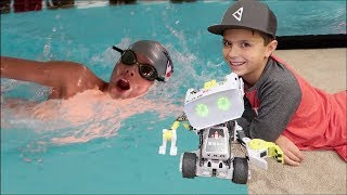 🤖 EXERCISING HIS BRAIN AND BODY | RyGuy's BUSY DAY 🏊 thumbnail