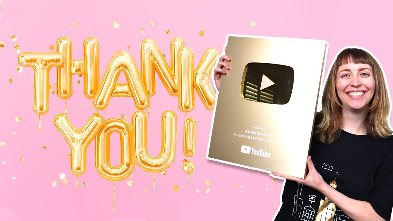 THANK YOU 1 MILLION SUBSCRIBERS SPECIAL BY CRAZYCATZ