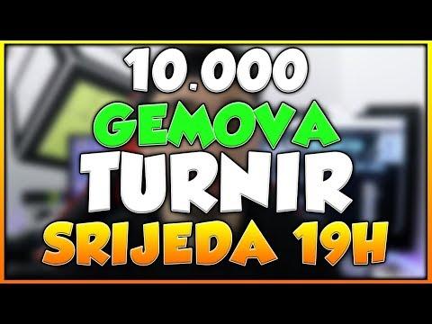NOVI TURNIR OD 10.000 GEMOVA!!! · Clash Royale