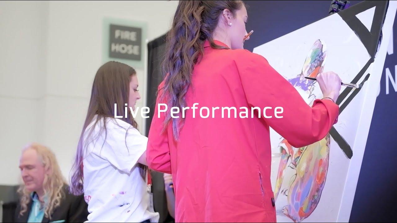 Art Vancouver 2019 - LIVE Performance