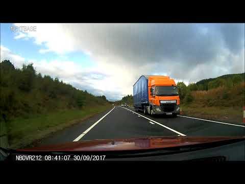 A9 Kincraig - Dalraddy Dual Carriageway Now Fully Open on Dashcam 30/9/17