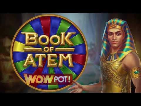 Book of Atem: WowPot Online Slot Promo