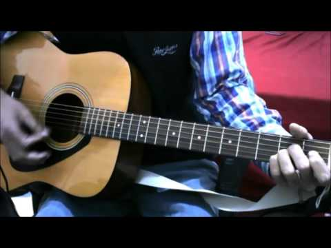 Aaj Jane Ki Zid Na Karo - simple complete guitar cover lesson chords beginners