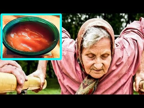От болей в суставах, тяжести в ногах может помочь этот бабушкин рецепт растирки.