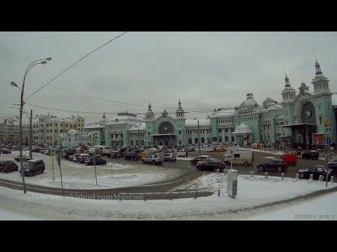 Иду к метро Белорусская