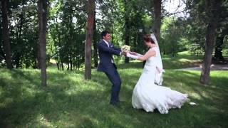 Свадьба видео - прогулка по Царицыно.