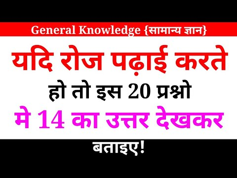 General Knowledge Quiz || GK Quiz For All Competitive Exams