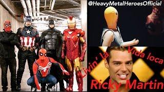 Download Ricky Martin - Livin' La Vida Loca (Cover by Heavy Metal Heroes) Mp3 and Videos