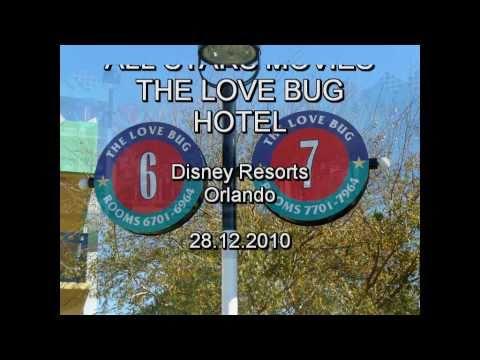 The Love Bug Hotel - Disney Resorts