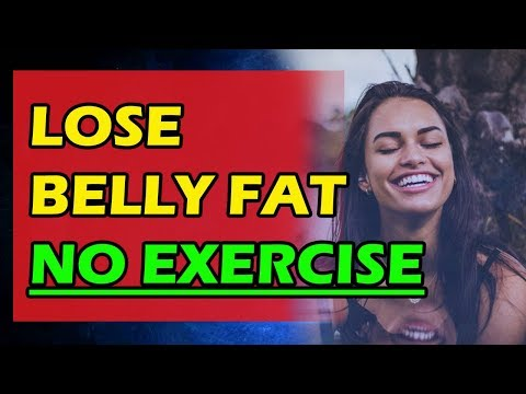 How To Get Rid Of Lower Belly Fat Without Exercise (My Weight Loss Journey)
