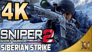 Sniper Ghost Warrior 2 Siberian Strike (PC) - 4K - Full DLC Walkthrough [2160p] (SweetFx)