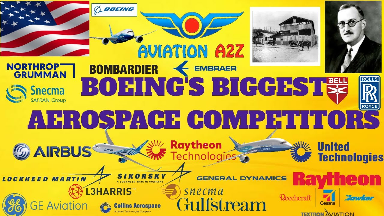 BOEING'S BIGGEST AEROSPACE COMPETITORS| AVIATIONA2Z ©| #boeing #aerospace #aviation #competitors