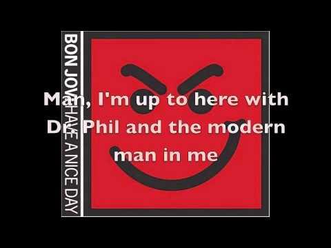 Bon Jovi: Novocaine (Lyrics on Screen and in Description)