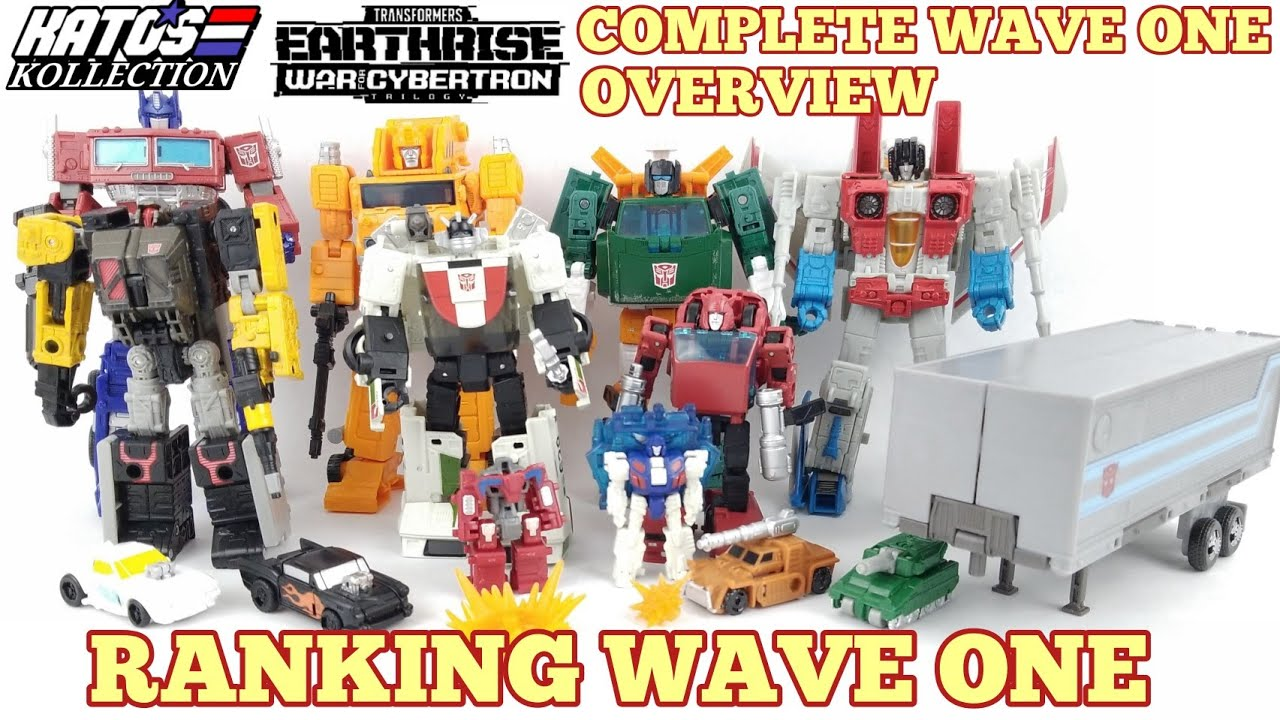 Earthrise Complete Wave One Overview and impressions by Kato's Kollection