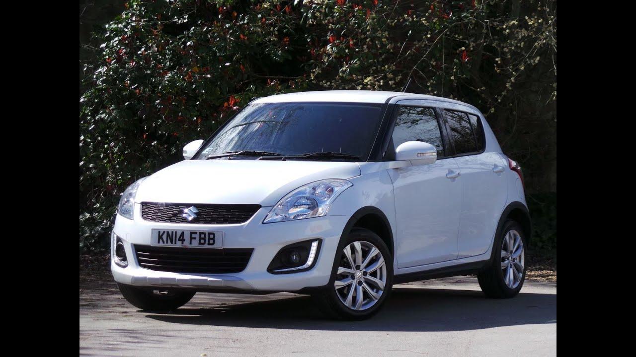 2014 14 Suzuki SWift 1.2 Sz4 5dr Inc Bluetooth in white ...