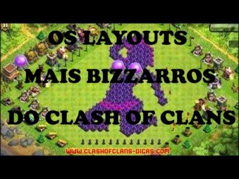 LAYOUTS BIZARROS E CRIATIVOS #1