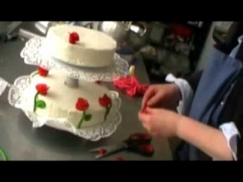 Hochzeitstorte dekorieren weddingcake youtube - Hochzeitstorte dekorieren ...