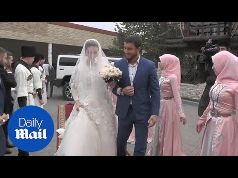 A Look Inside A 'proper' Chechen Wedding - Daily Mail