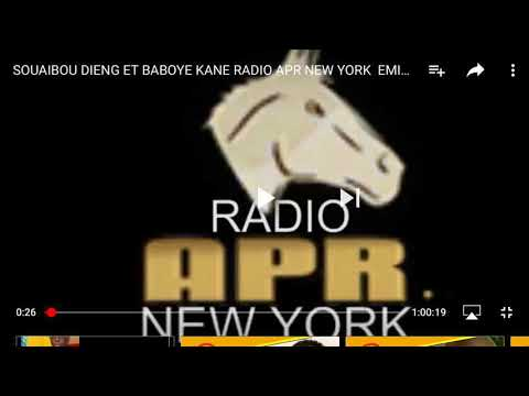 RADIO APR  NEW  YORK