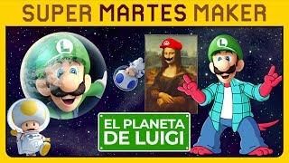 ¡¡LUIGI VUELVE A SU PLANETA!! 🌍 MARIO GLITCH, SIERRAS Y ATAQUE A LOS TITANES | Super Martes Maker 3