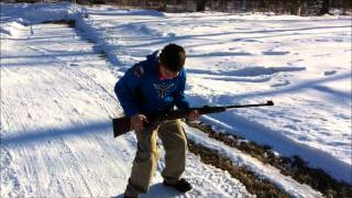 458 Winchester Magnum vs. 10 Year Old Kid
