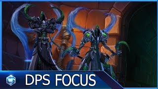 Download lagu Heroes of the Storm Learning to Damage Malthael Gameplay MP3