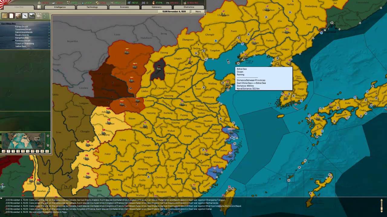 RE Lets Play Hearts of Iron II
