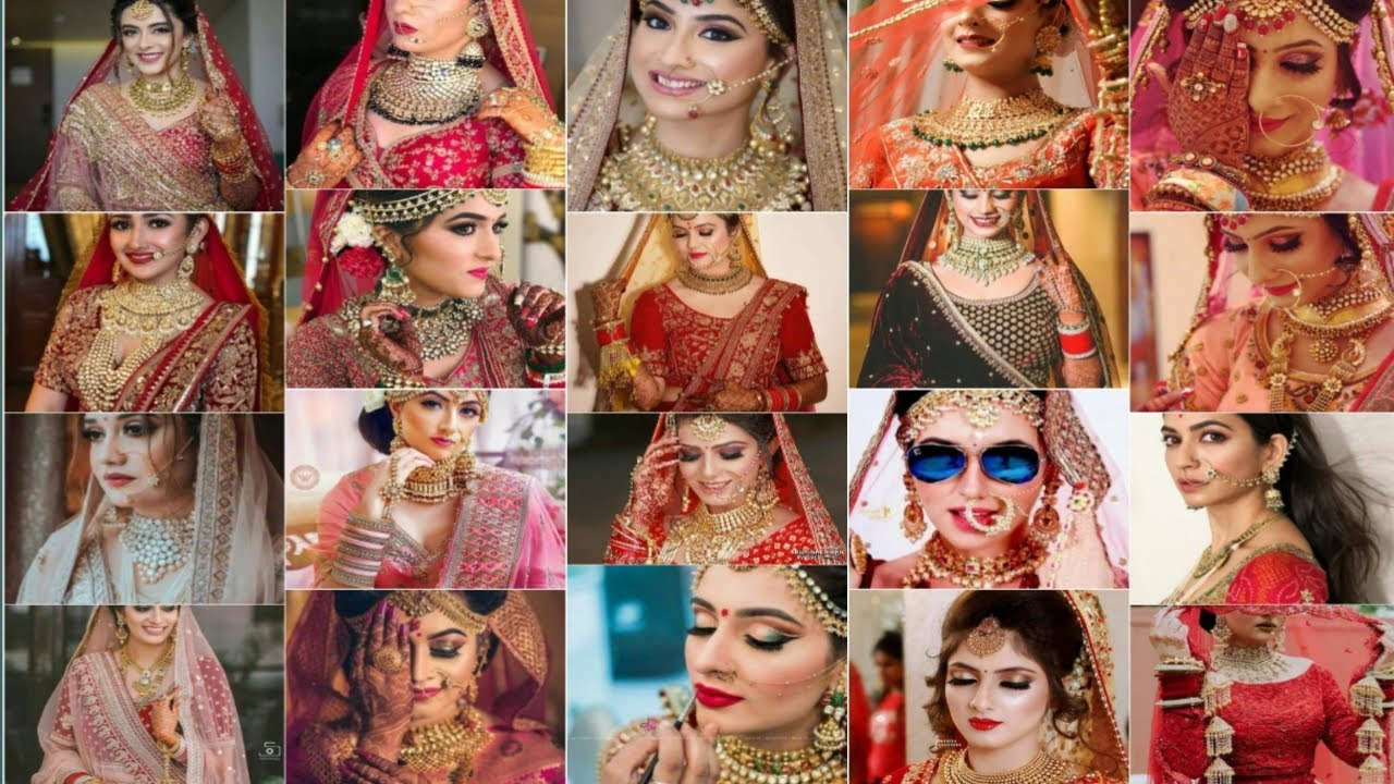#BeautifulBrides#MakeupGoals♥#JewelleryFashion