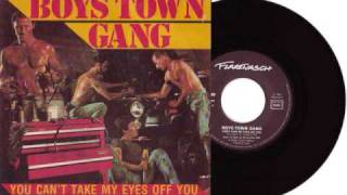 boys town gang / cant take my eyes off you subtitulada en español.wmv