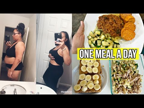 EATING ONE MEAL A DAY (OMAD) FOR 7 DAYS/ INTERMITTENT FASTING FOR WEIGHT LOSS