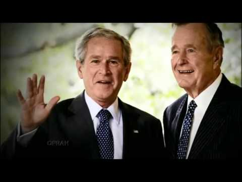 """George W. Bush """"Mom, I hope you're not announcing your candidacy."""""""