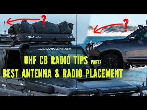 UHF CB Radio Antenna placement tips