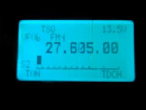 27.605Mhz FM RPT 88 5 Tone received in Australia.