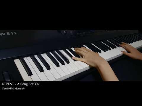 '뉴이스트 (NU'EST) - 노래 제목 (A Song For You)' Piano Cover