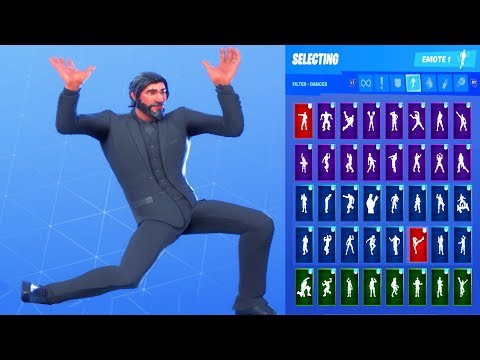 *UPDATE* Fortnite The Reaper Skin Showcase With All Dances & Emotes *Subscriber Request*