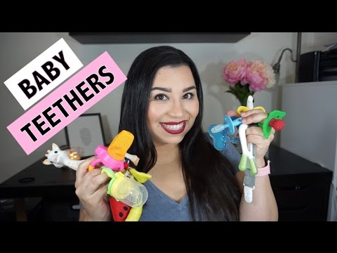FAVORITE BABY TEETHERS