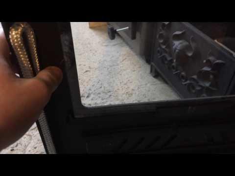 Камин Бранденбург с плитой 9кВт. Обзор.