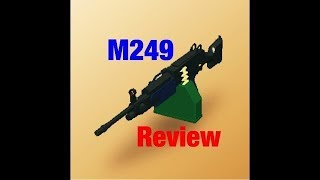 Roblox R2DA: M249 Overview