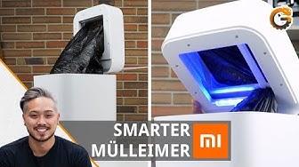 Smarte Xiaomi Mülleimer Townew T1: Mülleimer mit Sensor und Lüfter