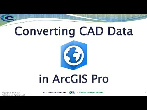 Converting CAD Data In ArcGIS Pro
