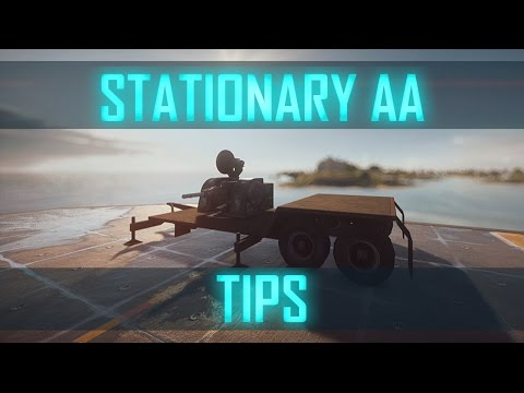 STATIONARY AA - HOW IT WORKS & HOW TO UTILIZE IT ► Battlefield 4 Jet Tutorial/Tips