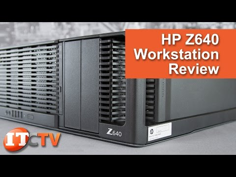 HP Z640 Workstation Review - 4K UHD! - YouTube