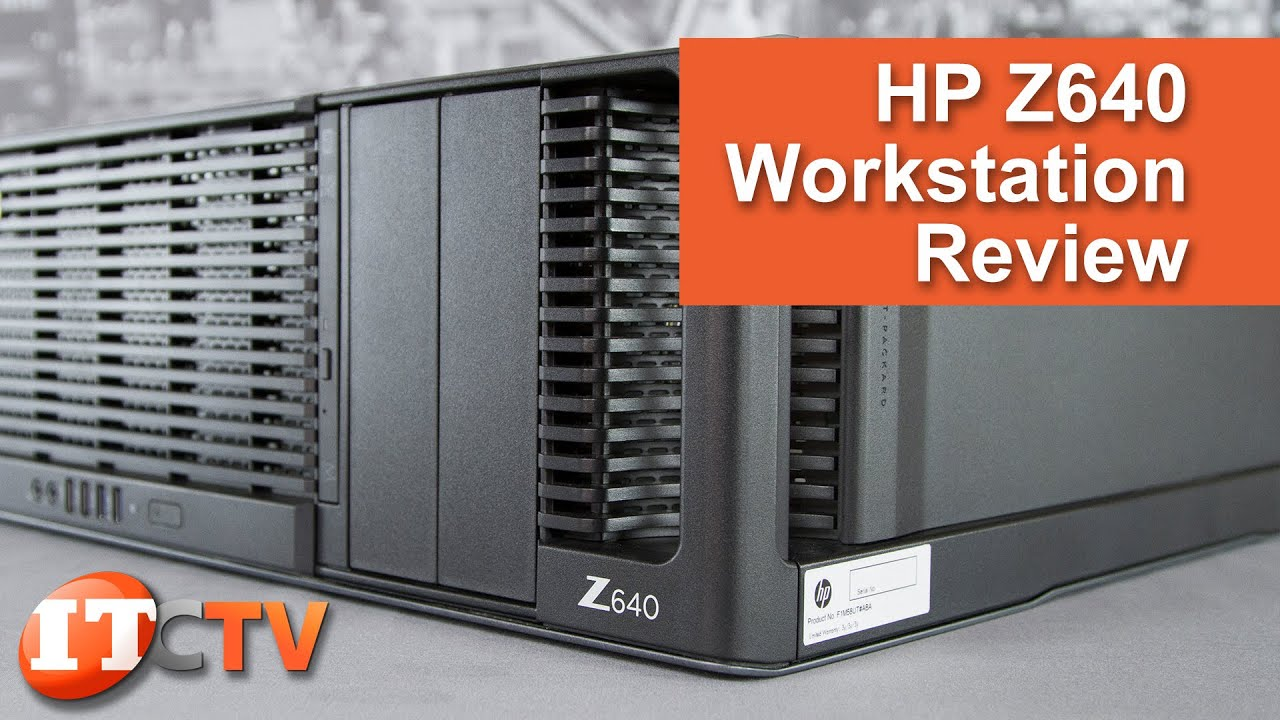 HP Z640 Workstation Review - 4K UHD!
