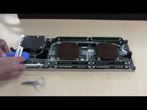 Chilldyne Liquid Cooling a Dell C6320 blade server